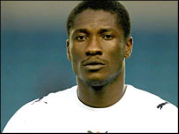 I'm disappointed in local fans - Asamoah Gyan.